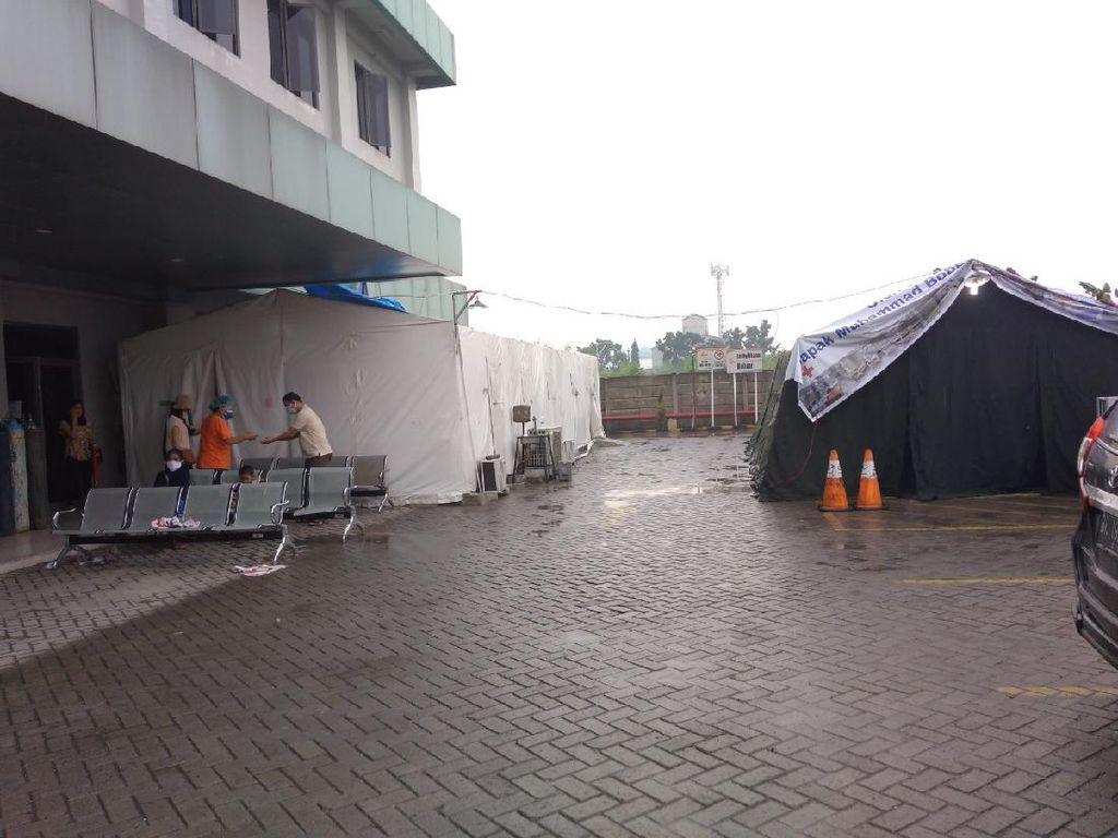 RS di Medan Bangun Tenda Darurat untuk Pasien COVID, Bobby Minta Bongkar