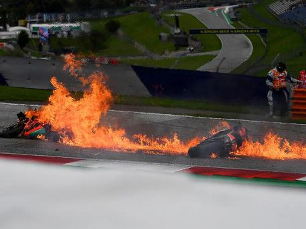 Motor Pedrosa dan Savadori Terbakar di MotoGP Styria, Ini Penyebabnya