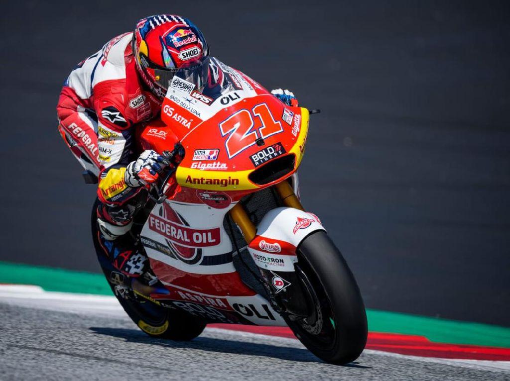 Hasil Tim Indonesia di Moto2 Styria Tak Memuaskan