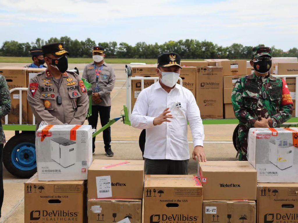 Dapat Bantuan dari Presiden, Stok Oksigen Kalteng Cukup untuk 13 Hari