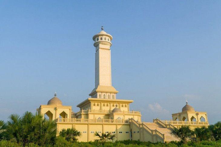 Monumen Islam Samudera Pasai di Desa Beuringen, Kecamatan Samudera, Kabupaten Aceh Utara. (ANTARA)