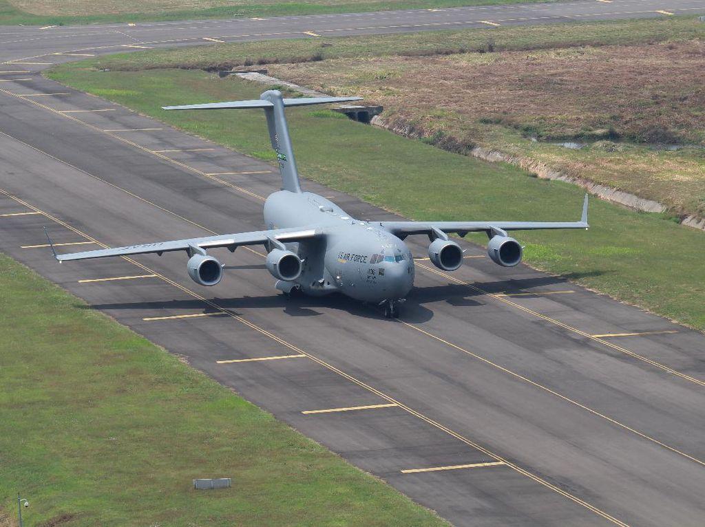4 Pesawat US Air Force Singgah di Bandara Kertajati, Ada Apa?