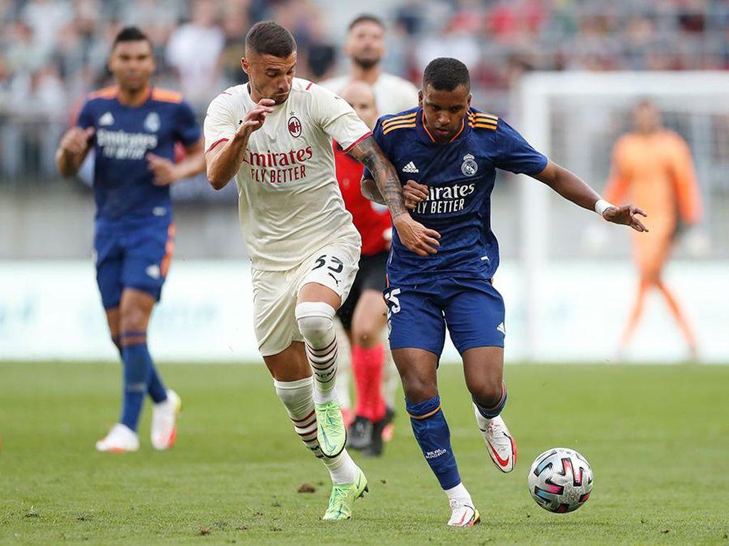 Bale Gagal Penalti, Madrid Vs Milan Imbang 0-0 di Laga Uji Coba