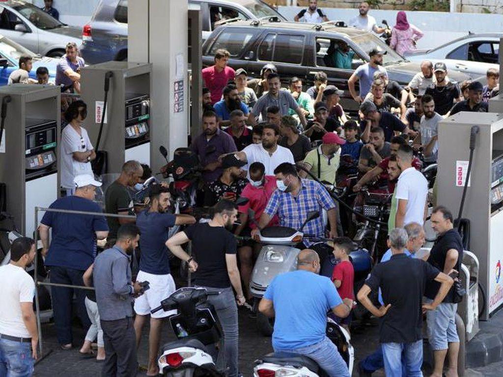 Krisis Bensin, Harga BBM di Lebanon Hampir Rp 36 Ribu per Liter