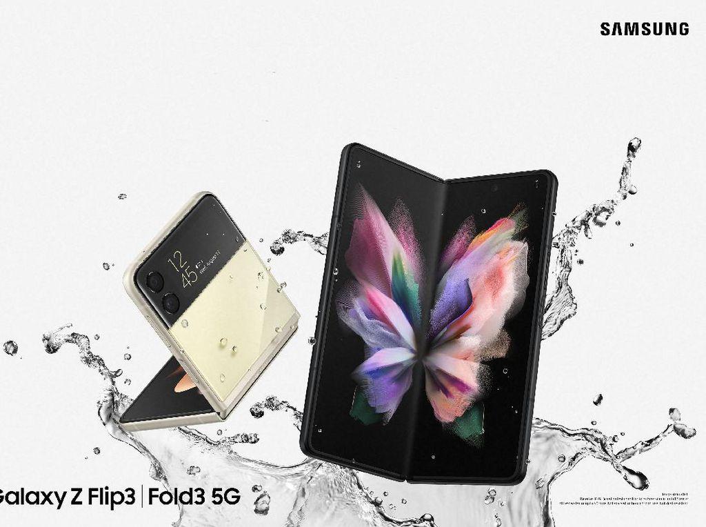 Pre-order Galaxy Z Fold 3 dan Galaxy Z Flip 3 Laris Manis di Kandangnya