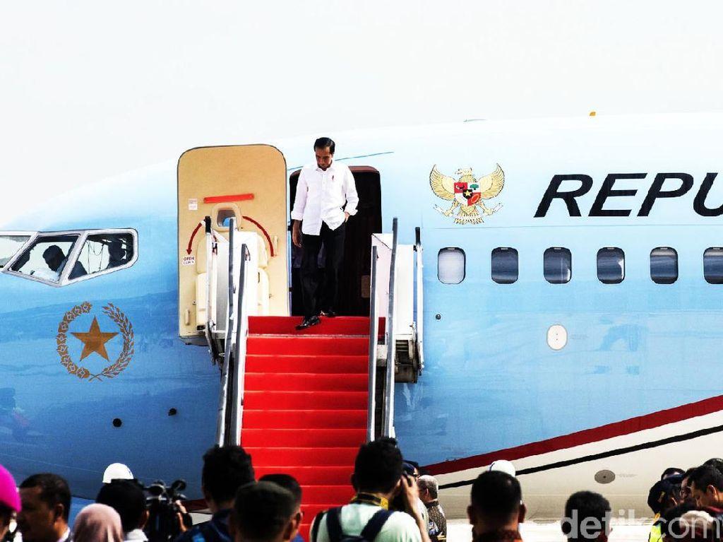 Tinggi Ongkos Terbang Jokowi