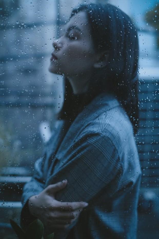 Melankolis saat hujan