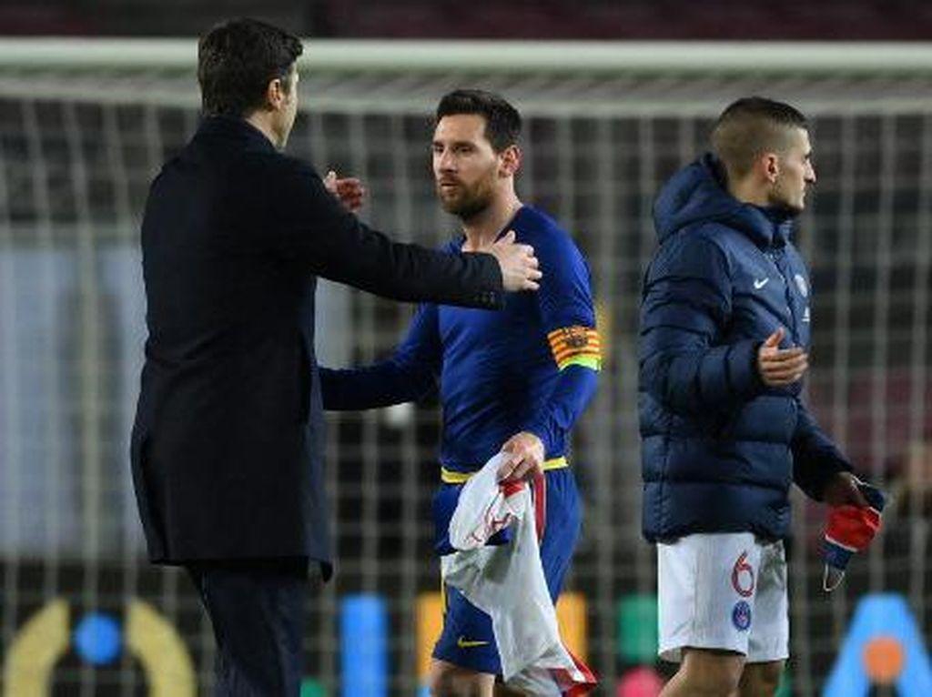 Pochettino & Messi: Dulu Berhadapan & Nyaris Setim, Kini Jumpa di PSG?