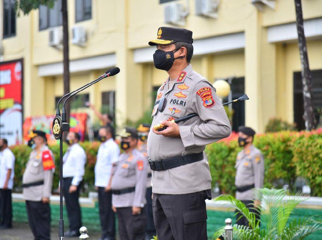Oknum Polisi Terlibat Begal Mobil Bareng ASN, Kapolda Lampung Murka!