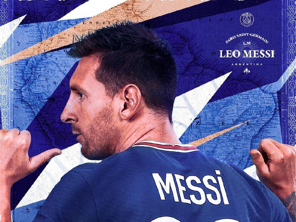 Lionel Messi Datang, PSG Panen Follower Facebook-Instagram