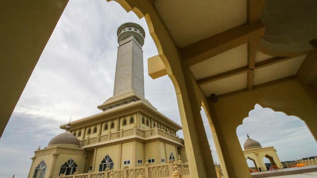 Melihat Monumen Islam Samudera Pasai yang Diduga Dikorupsi di Aceh