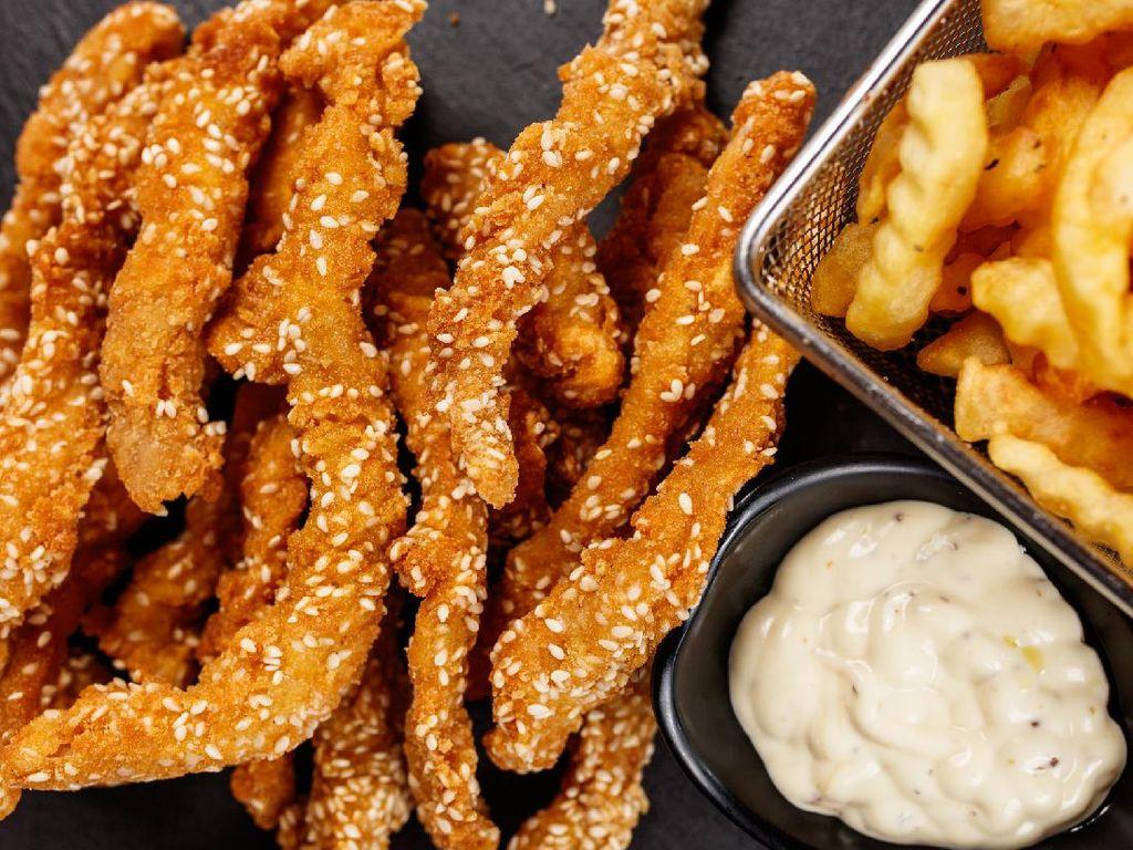 Resep Ayam Fillet Crispy Wijen yang Renyahnya Tahan Lama