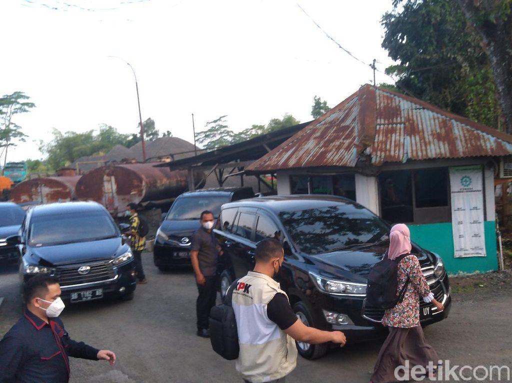 Penggeledahan di PT SW Purbalingga Usai, Tim KPK Tinggalkan Lokasi
