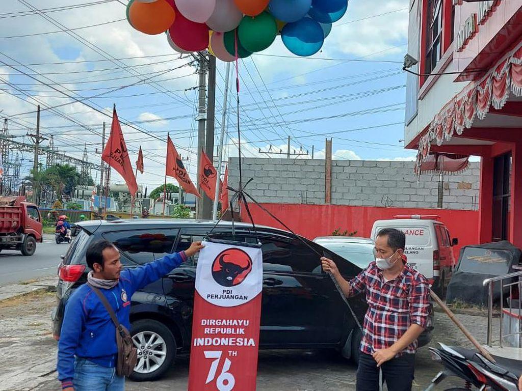 PDIPAkan Terbangkan 73.000 Balon di Jateng, Ganjar: Konsultasikan Dulu