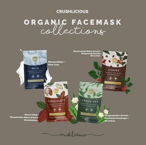 Crushcilious Organic Mask / foto : instagram.com/crushilious_id
