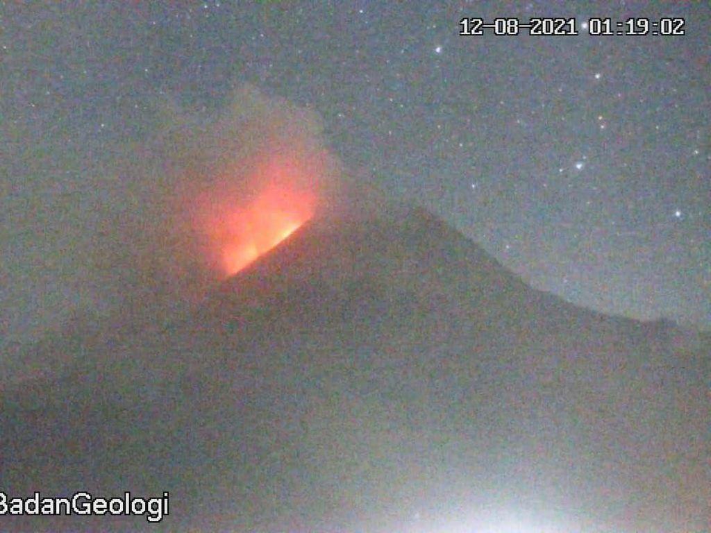 Gunung Merapi Sepekan: Awan Panas 28 kali dan 252 Guguran Lava