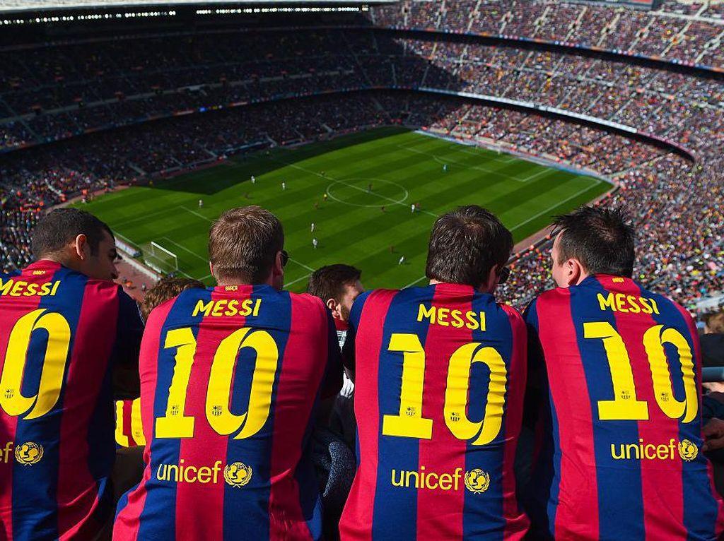 Messi Pergi, Barcelona Kehilangan Rp 300-an M dari Penjualan Jersey