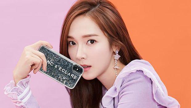 Jessica Jung dalam pemotretan BLANC & ECLARE