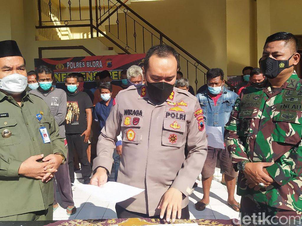 24 Orang Pelaku Provokasi Penjarahan Blora Dibebaskan, tapi....