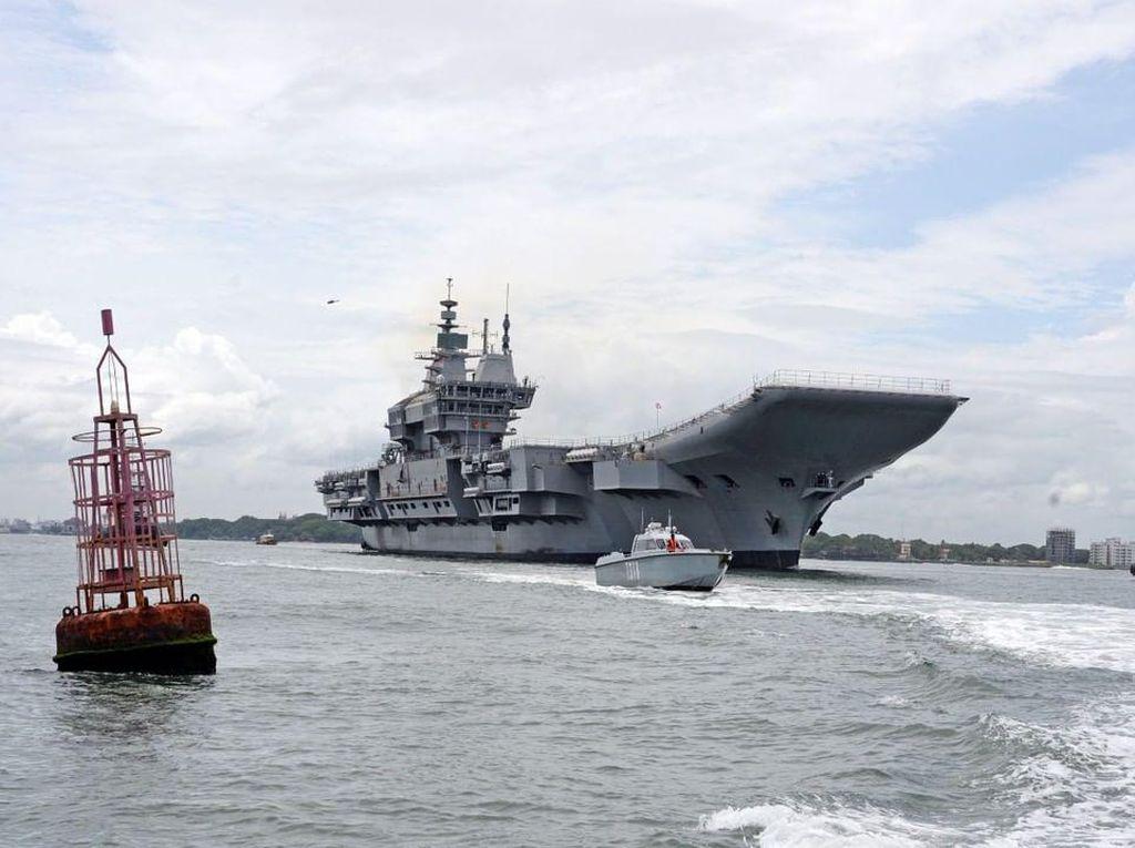 Intip Spesifikasi Kapal Induk Pertama Buatan India, INS Vikrant