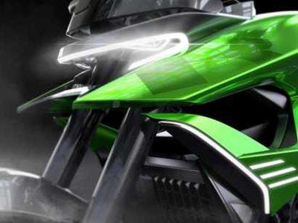 Kawasaki Adaptive Concept: Motor Dual Purpose dari Masa Depan