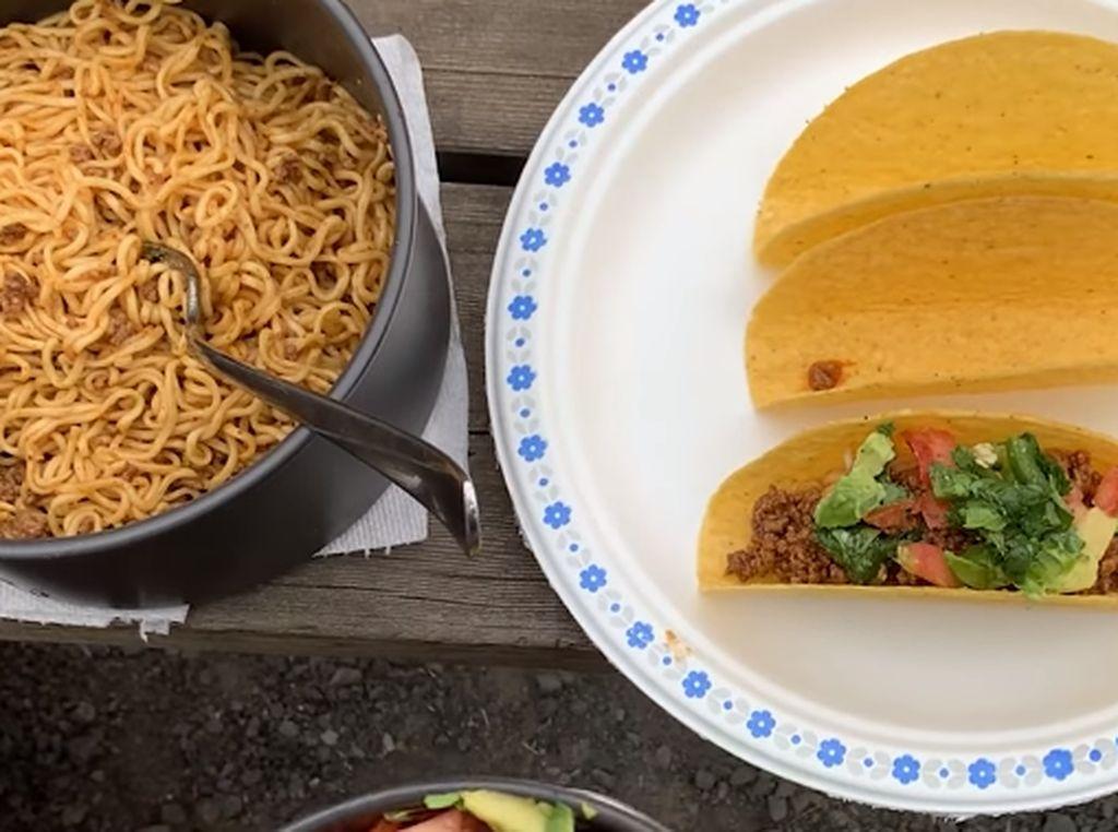 5 Kreasi Indomie Versi Mancanegara, Jadi Kimbab hingga Taco