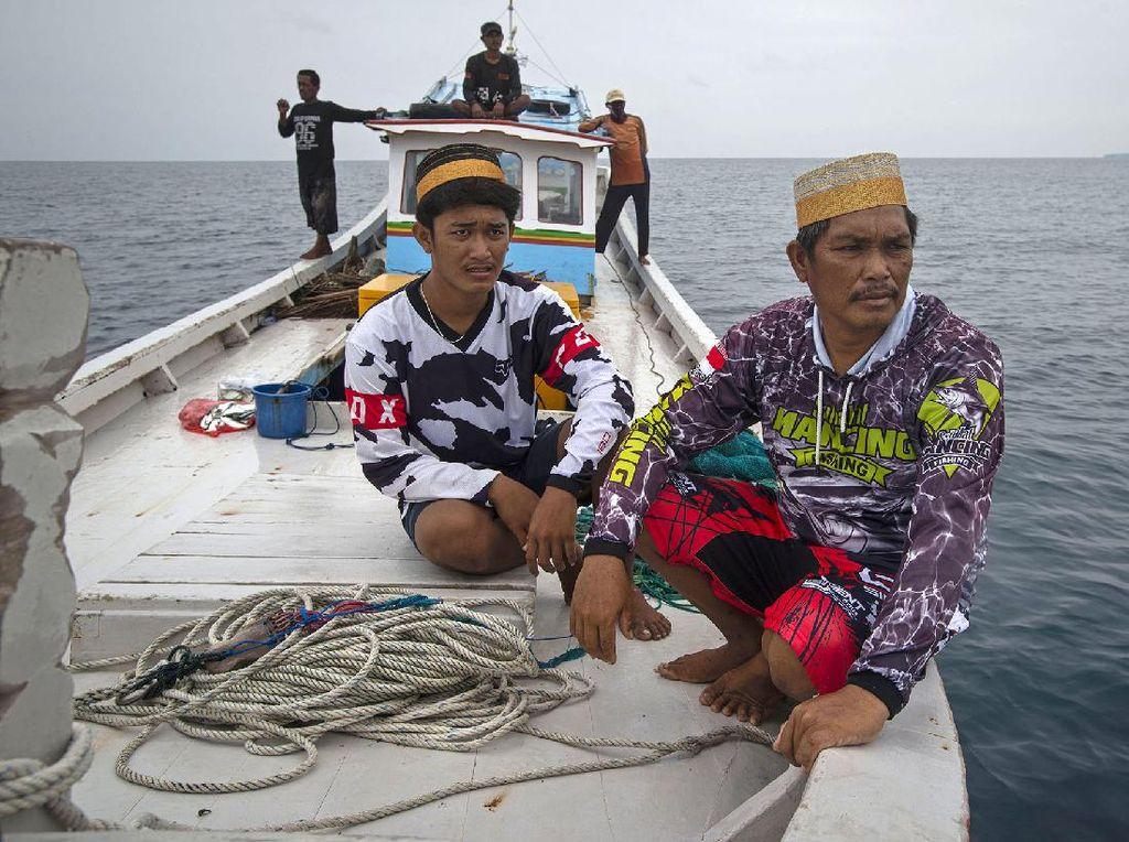 Sosok Nelayan Sabira di Kepulauan Seribu