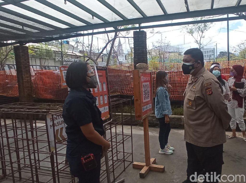 Sidak Mal di Bandung, Ini Temuan Polisi