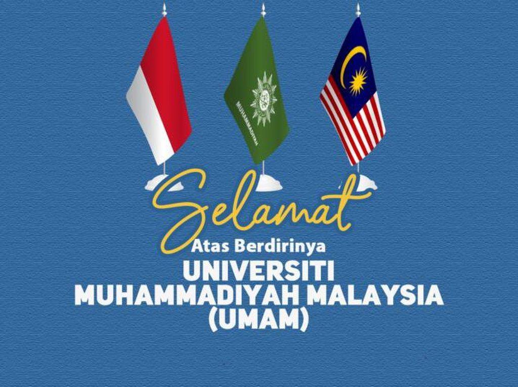 Universiti Muhammadiyah Malaysia Resmi Berdiri, Disiapkan Beasiswa