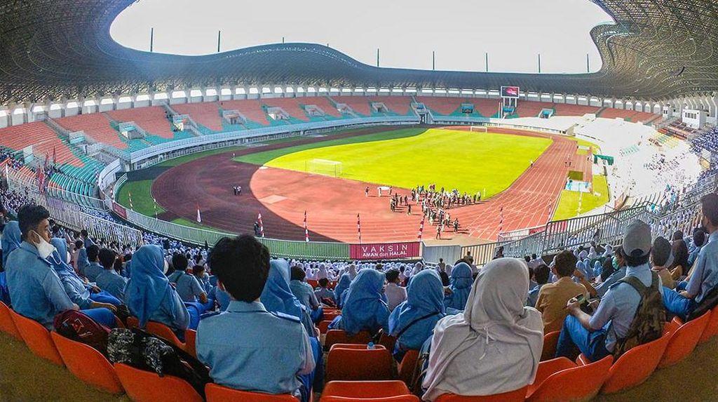 Stadion Pakansari Bogor Jadi Tempat Vaksinasi Massal Pelajar