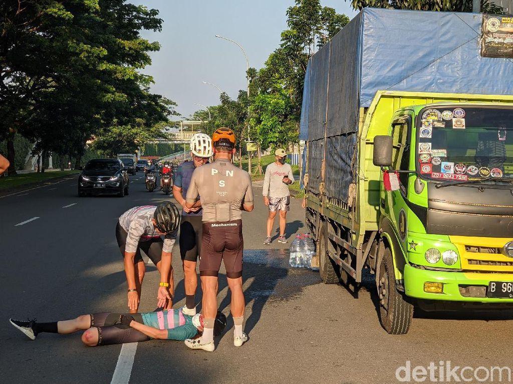 Kronologi Virnie Ismail Kecelakaan Sepeda, Jatuh Gegara Galon Air Gelinding