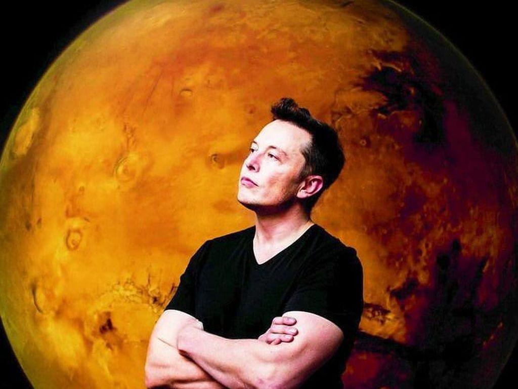 Misteri Elon Musk Belum Terbang ke Luar Angkasa