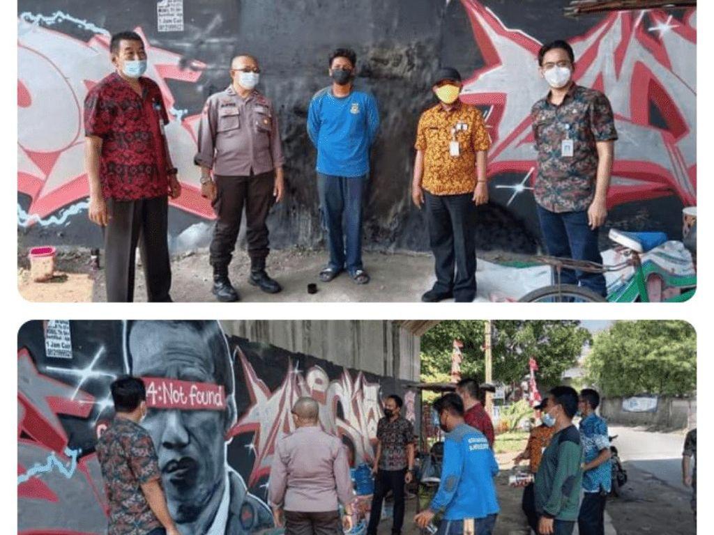 Soal Mural Jokowi 404: Not Found, Benarkah Presiden Lambang Negara?