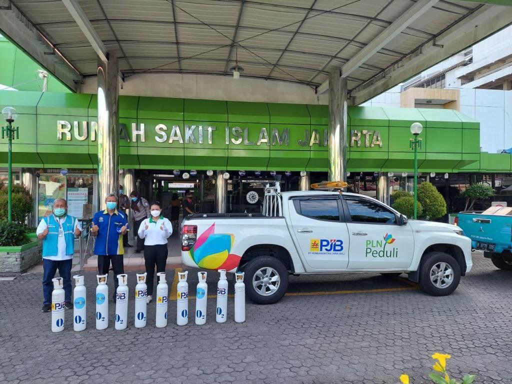 Oksigen Produksi PLTGU Muara Karang Mulai Disalurkan ke RS di Jakarta