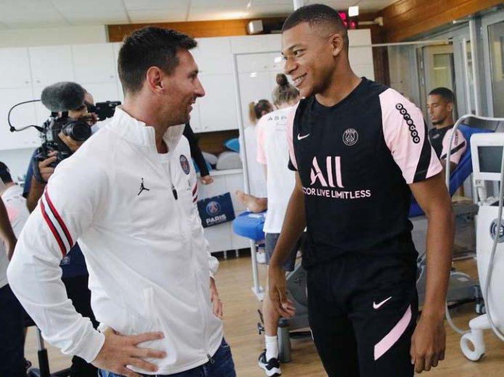 Messi dan Ramos Hadiri Ultah Pemain PSG, Mbappe Mangkir