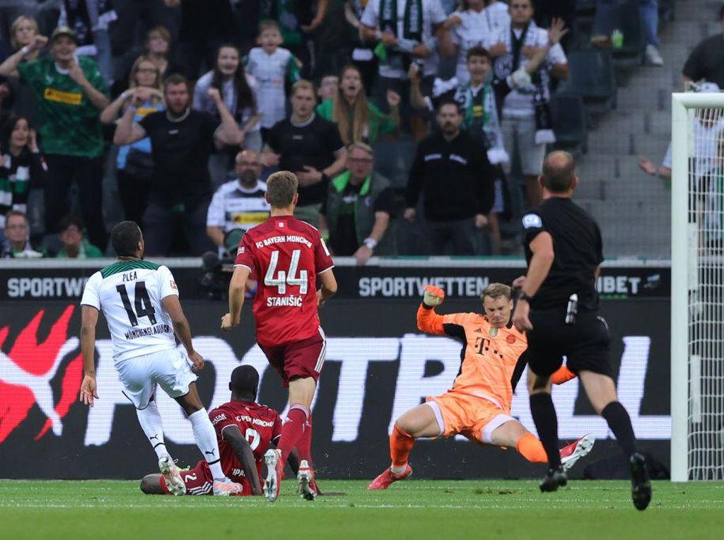 Gladbach Vs Bayern: Die Roten Tertahan 1-1