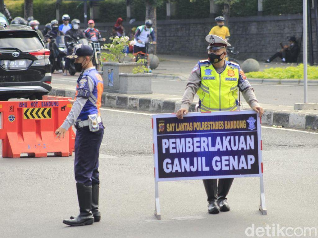 Ganjil-Genap di Bandung, Warga Masih Ada yang Kebingungan