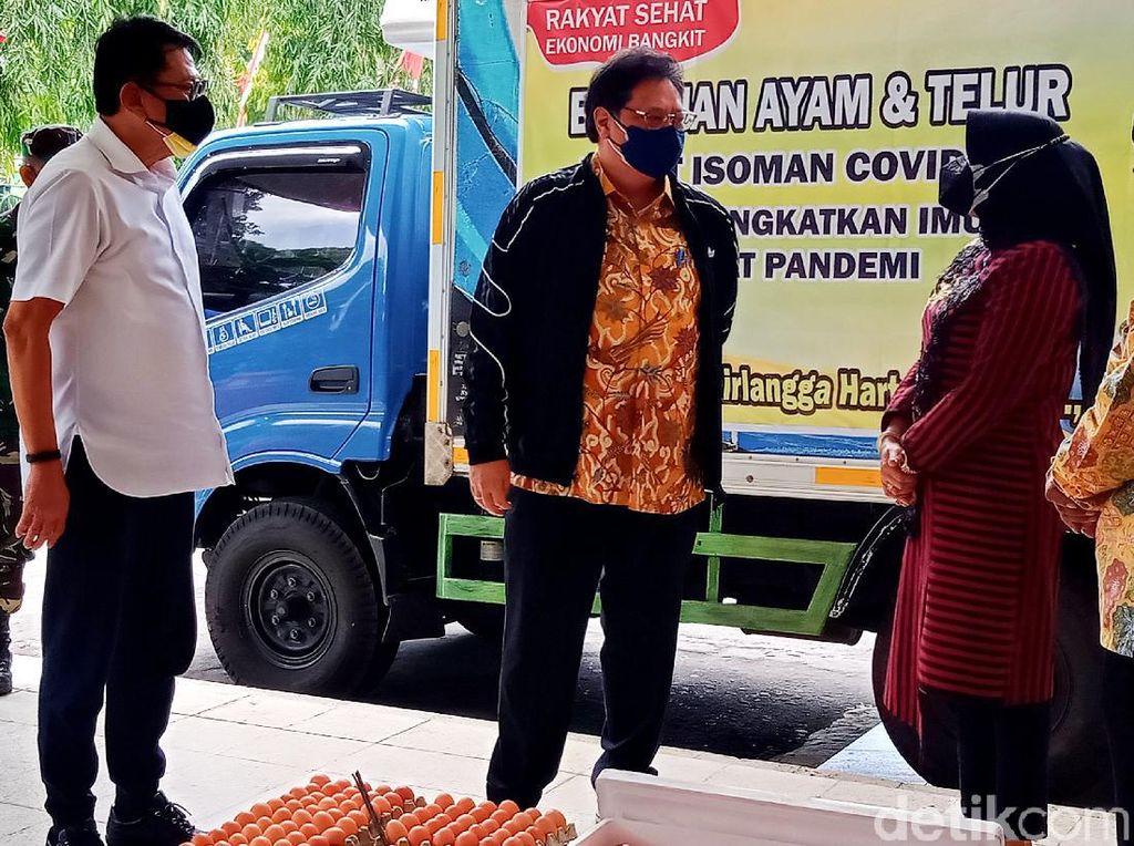 Warga yang Isoman di Klaten Dapat Pasokan 1 Ton Telur hingga Daging