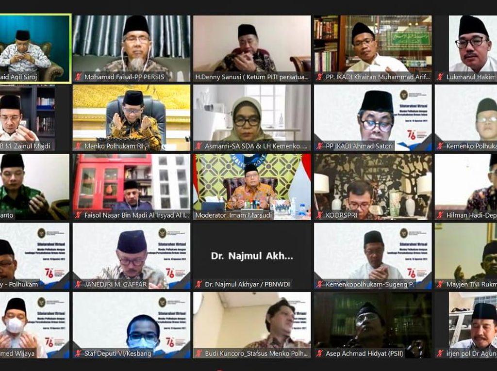Kepada Mahfud Md, Ormas Islam Harap Pemerintah Aktif Ajak Dialog