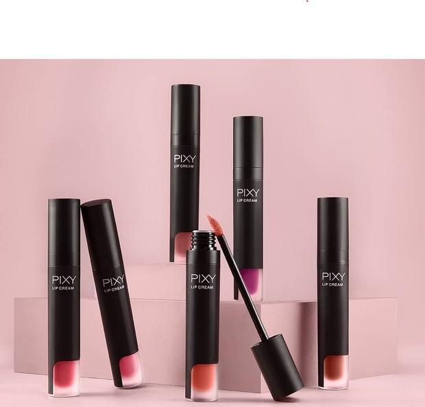 Pixy Lip Cream dengan hasil matte dan transferproof/Instagram.com/pixycosmetics