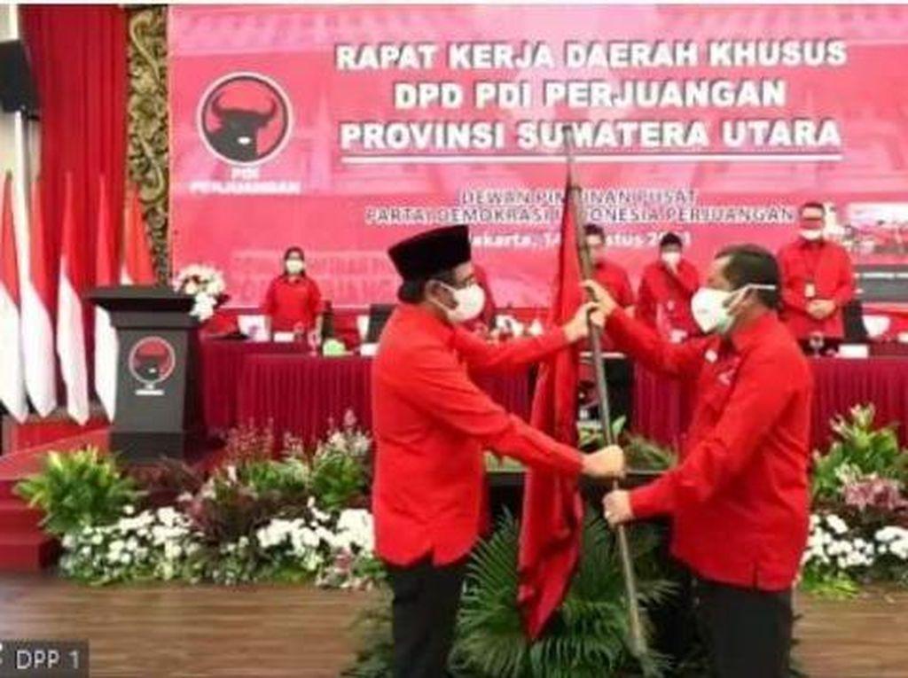 Ganti Djarot, PDIP Tunjuk Eks Bupati Samosir Jadi Ketua DPD Sumut