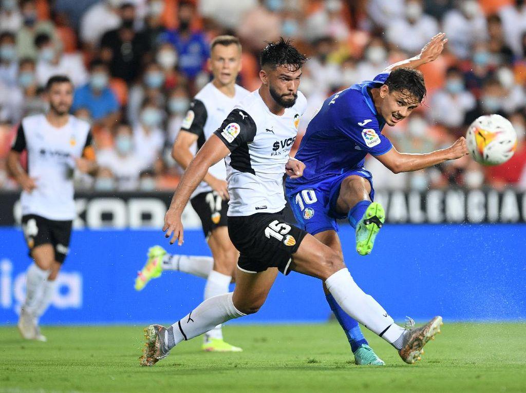 Valencia Vs Getafe di Laga Pembuka LaLiga 2021/2022: Los Che Menang 1-0