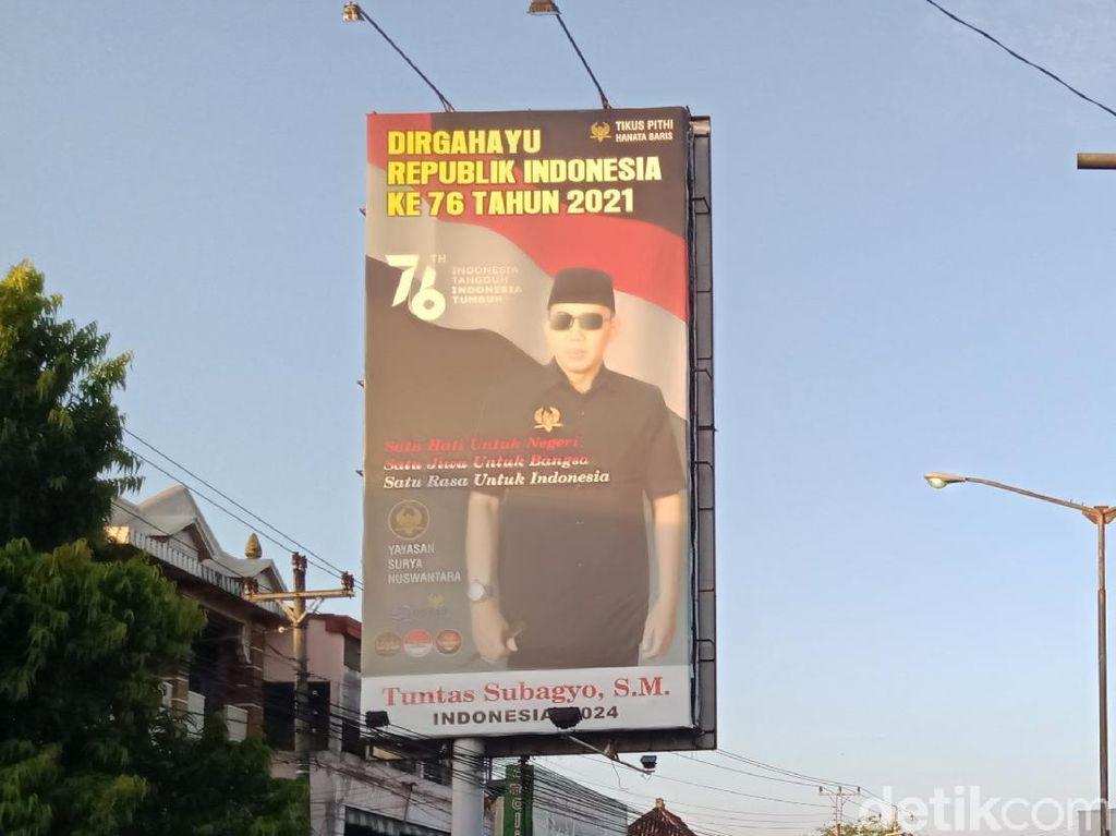 Siapa Sosok Pria Bergaya Bak Bung Karno di Balik Baliho Puan di Klaten?