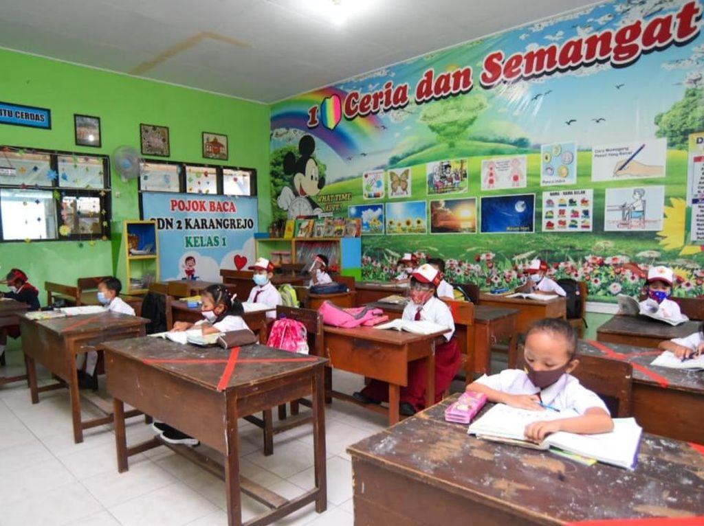 Wilayah PPKM Level 1-3 Boleh Gelar Sekolah Tatap Muka, Ini Aturan Pelaksanaannya