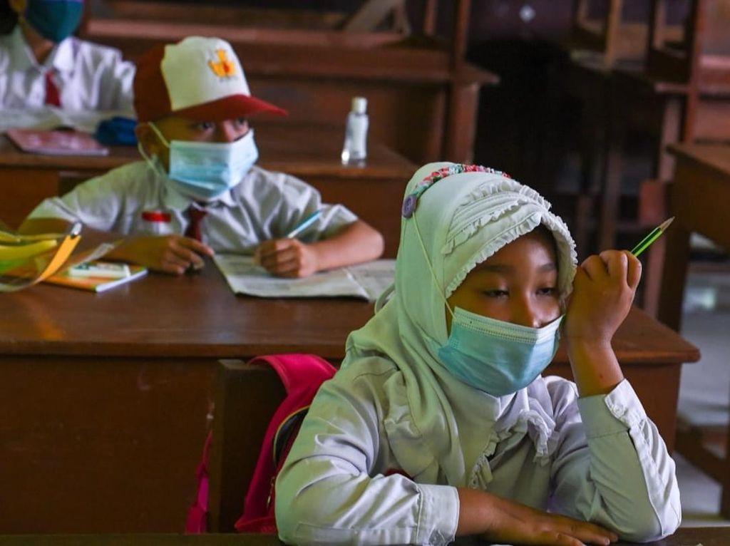 Corona Melandai, Kapan Jabodetabek Sekolah Tatap Muka Lagi? Ini Kata Satgas