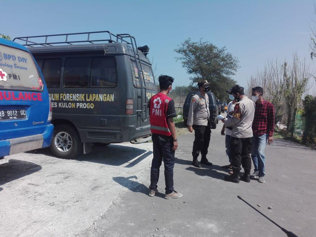 Polisi Ungkap Jenis Kelamin Tengkorak Temuan Pemancing di Pantai Kulon Progo