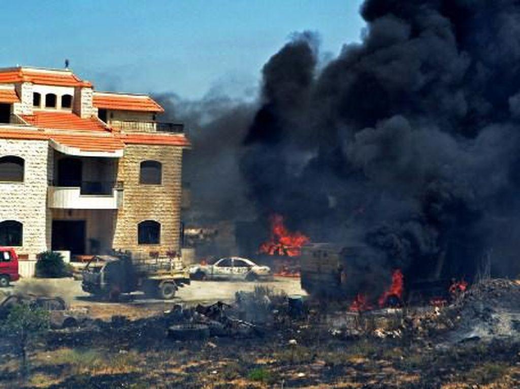 Korban Tewas Ledakan Maut Tangki BBM di Lebanon Jadi 28 Orang