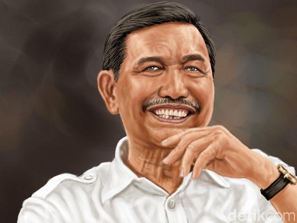 Kepuasan Kinerja Dinilai Dorong Jokowi Beri Luhut Tugas Berkali-kali