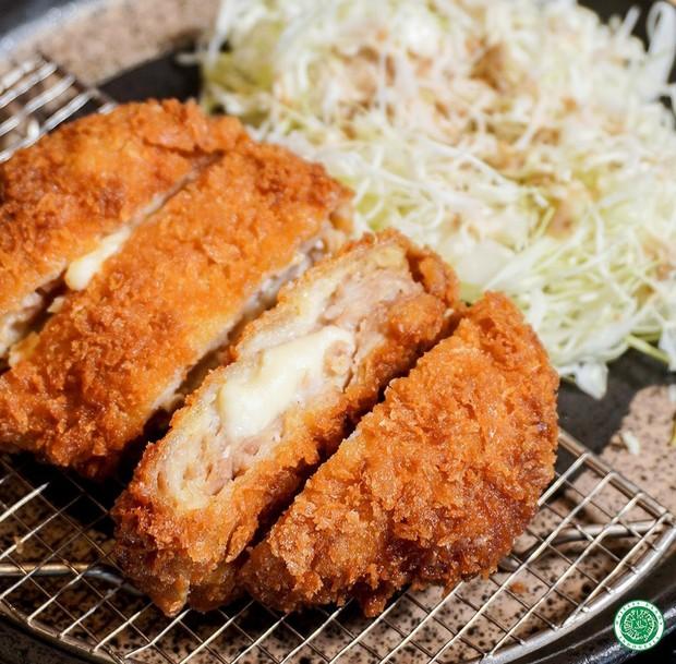 Makanan Jepang chicken katsu