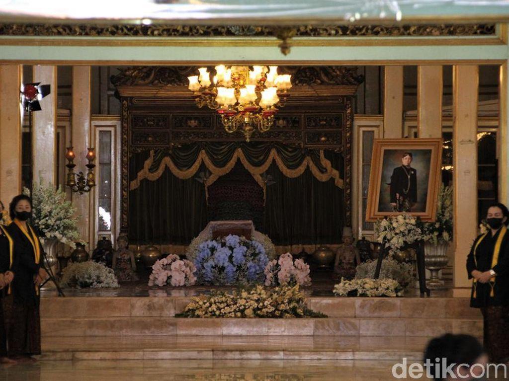 Pura Mangkunegaran Gelar Tahlilan 7 Hari Wafatnya Mangkunegara IX